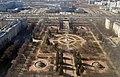 Вид с Главного здания МГУ на памятник Ломоносову - panoramio.jpg