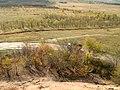 Вид с заброшенного террикона на дорогу - panoramio.jpg