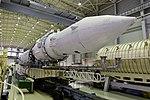 Вывоз и установка ракеты космического назначения «Ангара-1.2ПП» на стартовом комплексе космодрома Плесецк 01.jpg