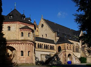 Imperial Palace of Goslar - St. Ulrich chapel at the Kaiserpfalz