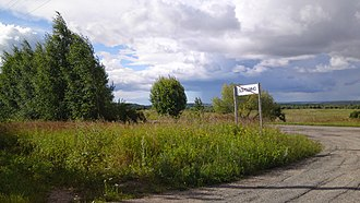Smolensk Oblast - Roslavlsky old tract, the village of Boreshino