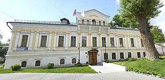 City Estate of N. A. Sumarokov — N. A. Tyuliaeva - Image: Забелина д.3 с.2