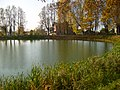 Кострома. Прудик в центре пгт Красное. 8-10-2011г. - panoramio.jpg