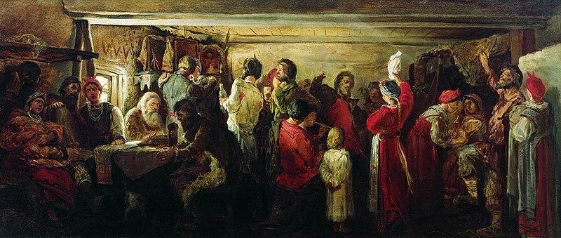 File:Крестьянская свадьба в Тамбовской губернии.jpg