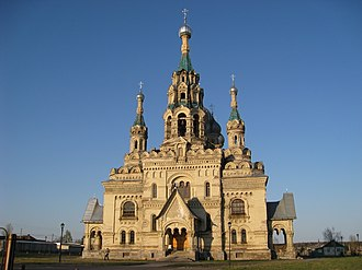 Pervomaysky District, Yaroslavl Oblast - Church of the Holy Mandylion, Pervomaysky District