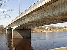 Мост 50-летия Октября. Апрель 2011.JPG