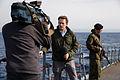 Работа иностранных журналистов на кораблях постоянной группировки ВМФ России в Средиземном море (2016-01) (14).jpg