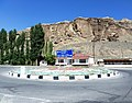 Развилка на шоссе Душанбе-Хучанд.JPG