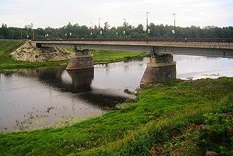 Luga River - Image: Ямбург 0027