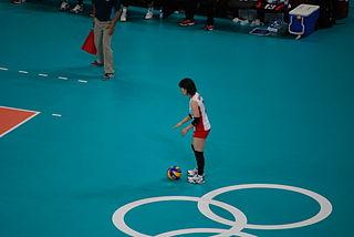 Hitomi Nakamichi Japanese volleyball player