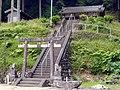 吉野町千股 葛上白石神社 2011.6.06 - panoramio.jpg