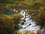 火花海叠瀑 - Sparking Lake Cascades - 2011.10 - panoramio.jpg