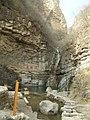 鸳鸯潭瀑布(三叠瀑第二叠) - Mandarin Duck Pool Cascade (The Second Cascade of the Three Folded Waterfall) - 2011.04 - panoramio.jpg