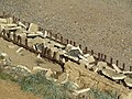 -2018-10-10 Second World War anti-tank obstacles, Mundesley.JPG