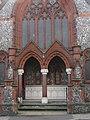 -2019-09-28 Front doorway, Cromer Methodist Church, West Street, Cromer.JPG