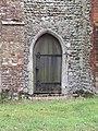-2020-08-23 Doorway, South elevation, Saint Peter and Saint Paul Church, Sustead, Norfolk.JPG