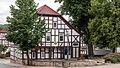 -38 Kulturdenkmal in Uhlstädt-Kirchhasel Gemeinde,Großkochberg ehemals Ortsstraße 70 Gemeindesaal am Goetheplatz.jpg