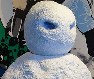 Great Intelligence - The Snowmen, on display at the Doctor Who Experience.