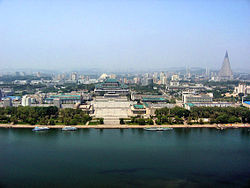Panoramic view from Juche Tower