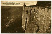 08585-Königstein-1907-Festung mit Abratzkyfelsen-Brück & Sohn Kunstverlag