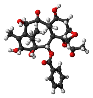 10-Deacetylbaccatin - Image: 10 Deacetylbaccatin III 3D balls