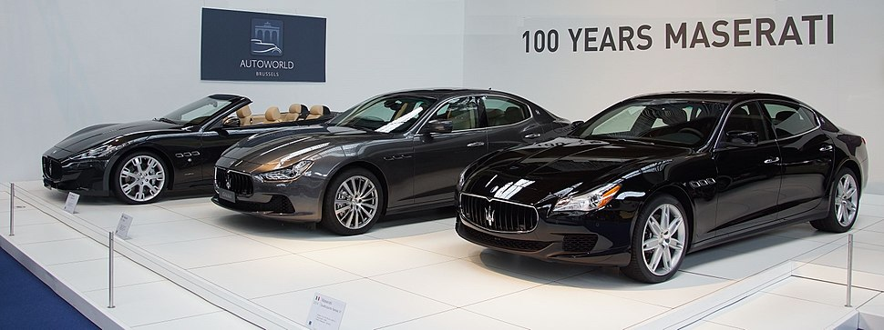 100 Years Maserati at Autoworld Brussels