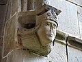106 Sant Jeroni de la Murtra, mènsula de la galeria oest del claustre.JPG