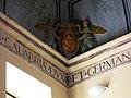 115 Sant Miquel dels Reis (València), volta de l'escala est, escut de Germana de Foix.jpg