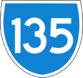135 based on Australian State Route.png
