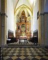 13 Viktring Stiftskirche Kirchenschiff mit Presbyterium 11072009 61.jpg