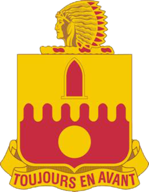 160th Field Artillery Regiment (United States) - Image: 160th FA DUI