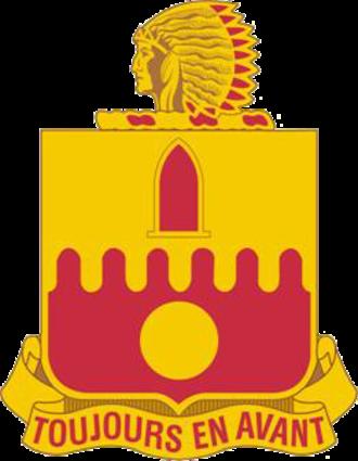 160th Field Artillery Regiment (United States) - Image: 160th FA DUI