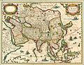 1627 Carte de l'Asie Bertius.jpg