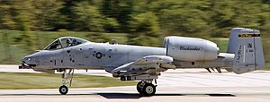 163d Fighter Squadron - 163d Fighter Squadron – Fairchild Republic A-10A Thunderbolt II 82-0661