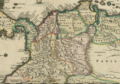 1680 Pasto detail map Insulae Americanae in Oceano Septentrionali by Visscher BPL 14260.png