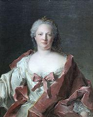 Portrait of Frankfurt banker's wife Anna Elisabeth Leerse