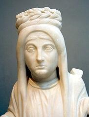Προτομή γυναίκας (Βυζαντινό Μουσείο Αθηνών)