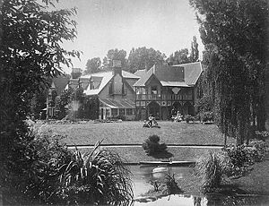 John Charles Watts-Russell - Watts-Russell's 1858 Ilam homestead (prior to 1911)