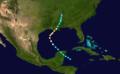 1893 Atlantic hurricane 8 track.png