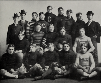 1902 Clemson Tigers football team - Image: 1902 Clemson Tigers football team (Oconeean 1903)