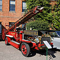1912 Morris Belsize Fire Engine at Capel Manor, Enfield, London, England.jpg