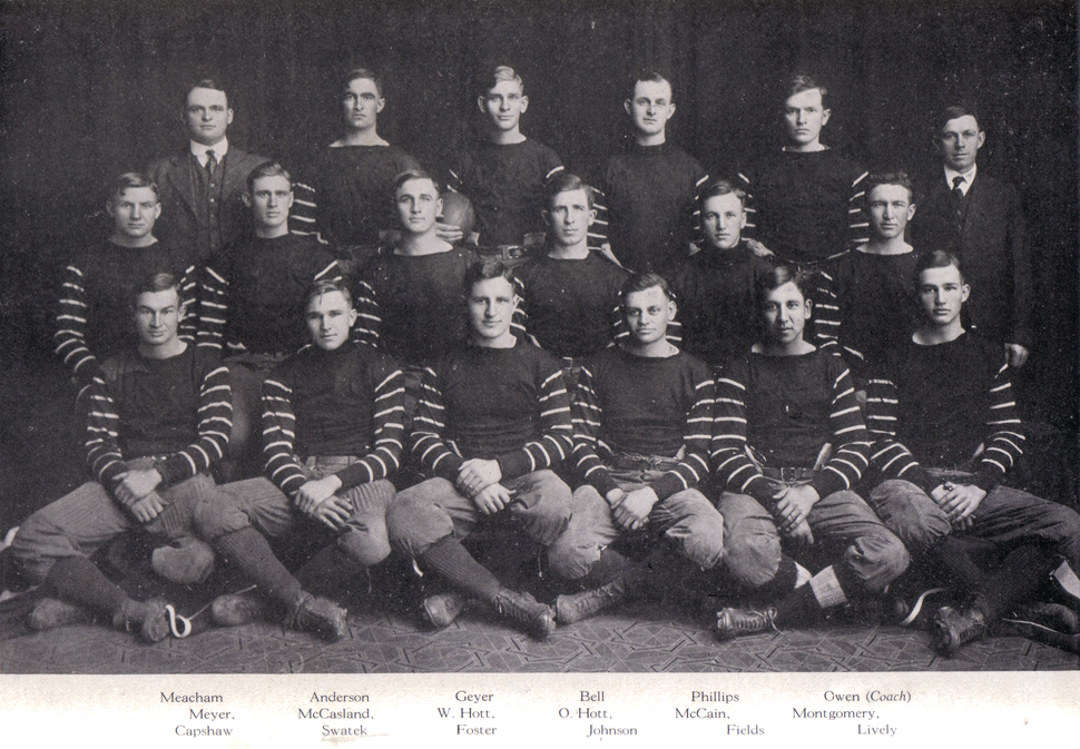 1915 Sooner Football team