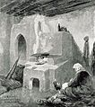 1916 - Albert Reich - Buzau, interior de casa taraneasca - Scheiu p59.jpg