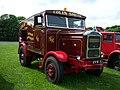 1939 Scammell Showtrac replica (CYS 1) fairground ballast tractor, 2012 HCVS Tyne-Tees Run.jpg