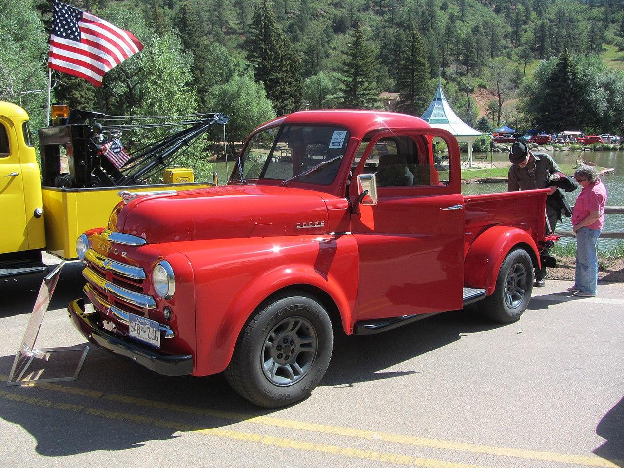 File1949 Dodge Body Dakota Chassis 28330865482 Wikimedia 1949 Pickup Truck