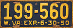 1950 West Virginia license plate.jpg
