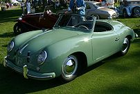 1953 Porsche 356 Roadster photographed at the ...
