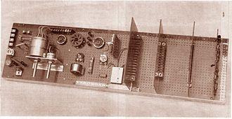 Veroboard - 1961 Veroboard Display Board.