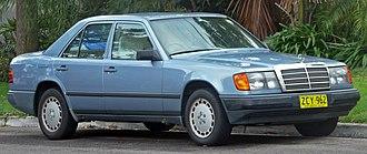 Mercedes-Benz W124 - Mercedes-Benz 300 E (W124) sedan