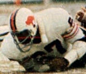 Reggie McKenzie (guard) - McKenzie playing for the Bills in 1973